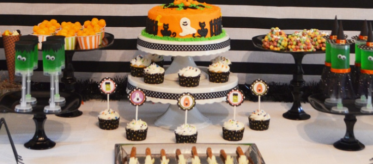 Halloween Dessert Stand (DIY) Craft Tutorial